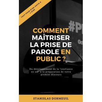 1540 0 - Review sur L'e-book « comment maitriser la prise de parole en public ? »