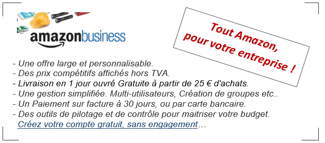 amazon business entreprises professionnels avantages - AMAZON BUSINESS